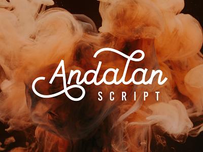 andalan script script lettering lettering letters font awesome scriptfont font design script font