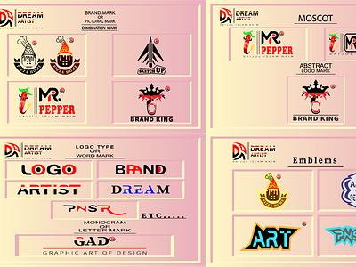 I will create 7 types of minimalist logo creative modern, unique create logo logo maker app logo maker company logo design custom logo design logo animation company logo logo design