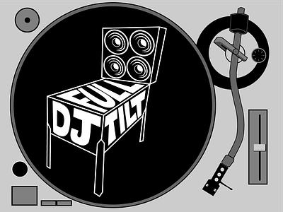 DJ Full Tilt logo vector branding graphic design