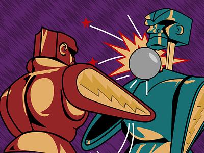 Royal Rumble Pinball Tournament design vector graphic design illustration