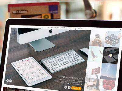 Minty - Web Design WIP simple minimal web design design web