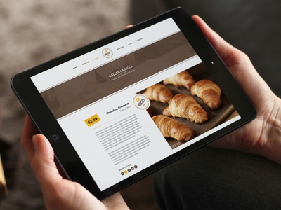 WordPress Bakery, Cakery & Food Theme design minimal baked cakery cakes food bakery