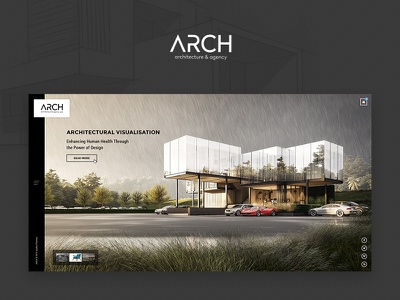 Arch - Architecture & Agency Web layout web portfolio agency architecture
