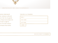 Subscription Form for a Jeweler