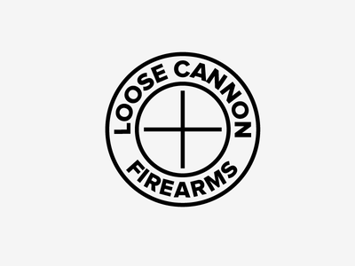 Potential Logo loose cannon firearms crosshairs scope accuracy precision