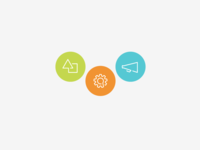 icon styling for infomedia site