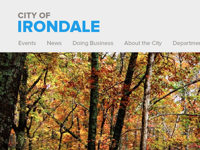 New Irondale City Branding proxima nova ruffner mountain city of irondale events news about the city