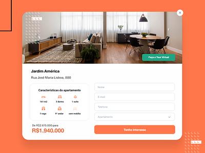 Modal - Loft web ui design