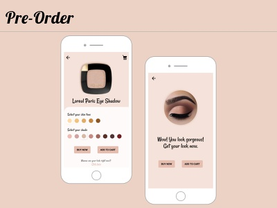 Pre Order dailyui075 075 app ux ui design