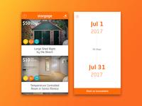 Storgage iOS App