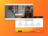 Storgage Landing Page