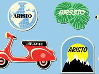 Aristo Travel Stickers