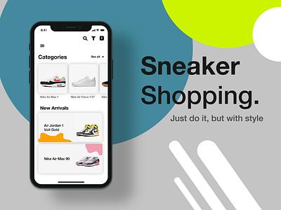 Sneaker Shopping App appdesign sneakershoppingapp design uiuxsupply userexperiencedesign userinterfacedesign uitrends uidesign uiinspiration uiuxdesign uiux