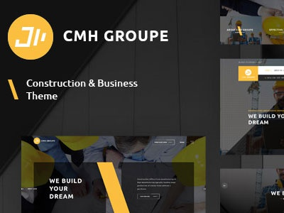 Construction- Building & Architects WordPress Theme