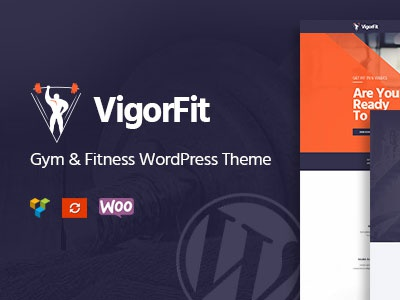 Vigor - WordPress Fitness Theme for Fitness Clubs