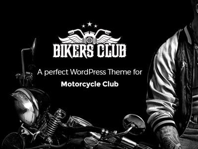 Bikersclub - Motorcycle Responsive WordPress Theme motorcycle moto club cyclists bikes clubs bikes bike shop