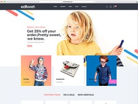 Ezboozt All in One WooCommerce WordPress Theme