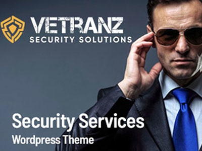 Vetranz – Security Service WordPress Theme