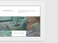 One page website for web-studio