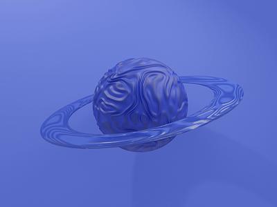 God of Agriculture illustrator smooth blender 3d monochrome planet saturn ux ui vector branding illustration design 2021