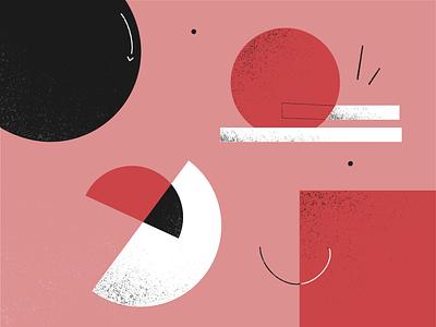 ShapeStick geometric shape procreate illustrator ui branding illustration design 2021