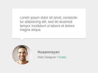 Testiomnials Design web web elements testimonials design clean simple note template psd