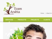 Team Arabia Website