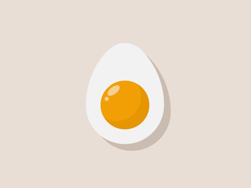 Egg breakfast yellow eggs egg illustrator illustraion