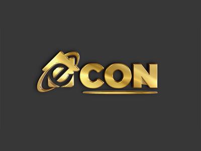 Econ Consulting Logo Designing logodesign web photoshop minimal illustration design logo design logo illustrator branding