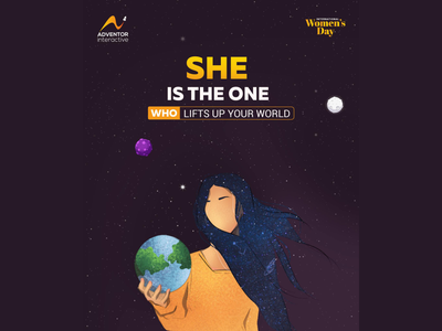 Women's Day Social Media Post Illustration adobe illustrator cc digital painting adobe illustrator illustration illustrator