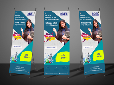 X Stand Banner Mockup Coaching design mockup banner x stand
