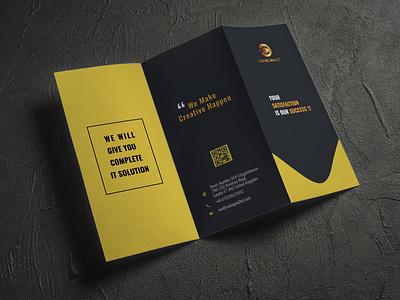 Trifold Brochure Design Mockup trifold brochure design brochure design brochure mockup trifold brochure