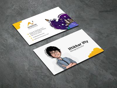 Illustration Business Card Design Mockup design vector illustration illustration art illustrator business card illustration business card design business cards business card businesscard