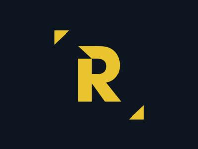 [R] band rock logo branding logotype