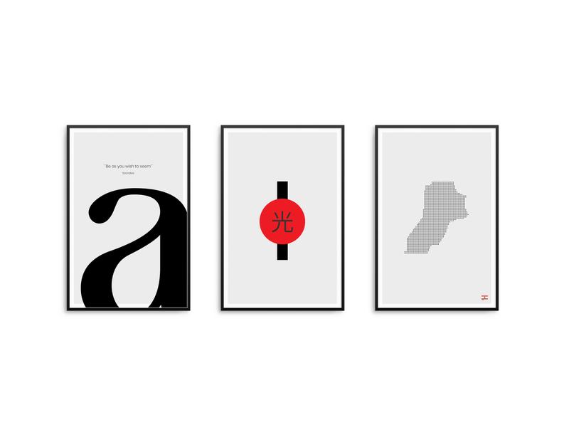 - = + creative concept character font lettering logo interior design design home