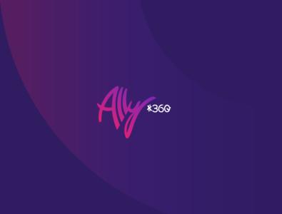 Ally x360 logo branding design