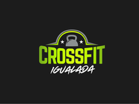 Web Crossfit Igualada graphic design logo logotype