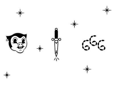 Cartoon 666 venezuela typography maracaibo behance logo design lettering graphic design branding logotype