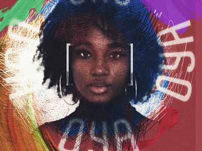 OYA graphic design illustration hipster album disco hiphop branding