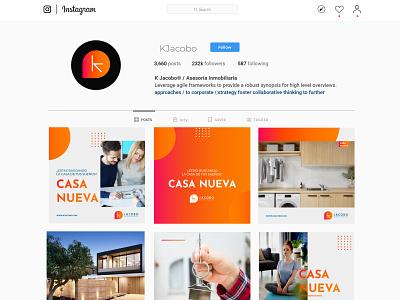 Instagram Browser Window / K Jacobo ® branding and identity socialmedia social colombia branding design rrss branding logo logotype