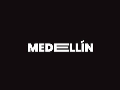 Type Medellín typography font medellin byme