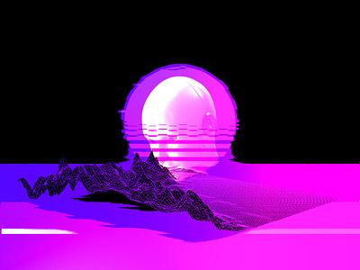 Design 2053 graphic design illustration vapormax branding 70sdesign 70s 80 90s retrowave vaporwave