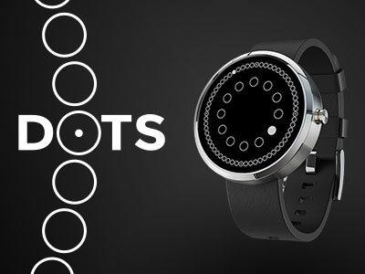 Dots Watch Face personal project bauhaus dots watch face watchface smartwatch wear android android wear