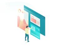 Isometric (iPad Affinity Designer + Procreate)