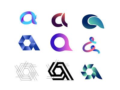 a latter logo logo concept logotype logo idea modern logo letter mark logo letter mark letter a symble letter logo a latter logo