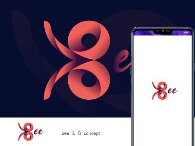 bee logo mark logo concept b icon logo mark logo idea logo design bee logo branding iconic logo logos b letter logo b logo