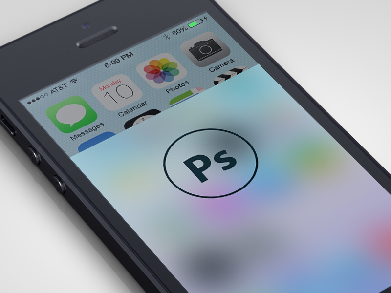 iOS7 Blur - Photoshop Action ios ios7 photoshop freebie action