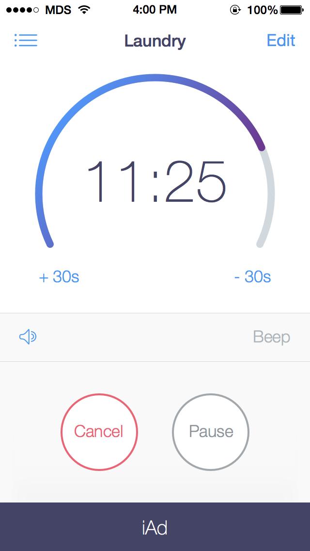 02 timer detail running