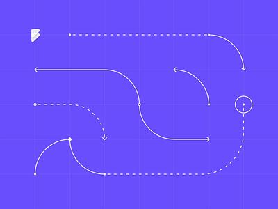Flowkit logo illustration motion graphic branding