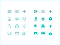 Line & Fill Icons